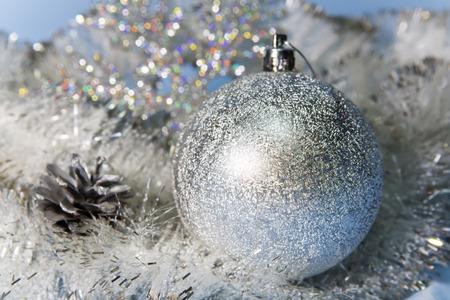 silvery: Silvery New Years ball