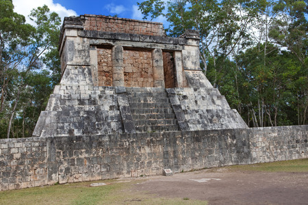 itza: Chichen Itza pyramid, Yucatan, Mexico Stock Photo