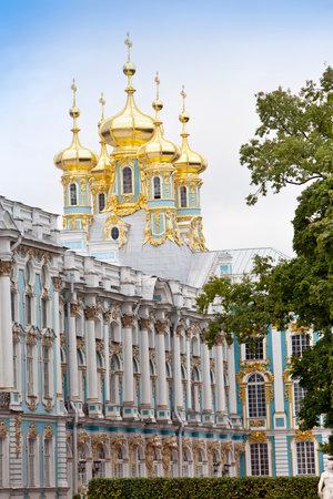 selo: Katherines Palace hall in Tsarskoe Selo (Pushkin), Russia Editorial