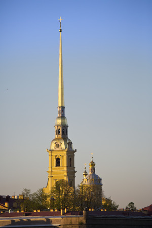 Russia. Petersburg. Peter and Paul Fortress photo