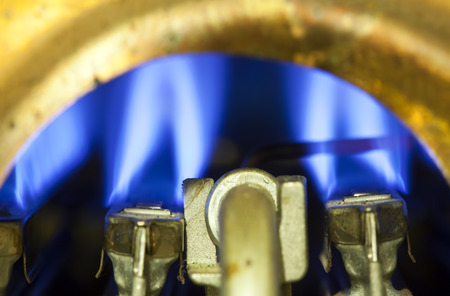 gas burner: Element of ignition of the gas water heater, boiler