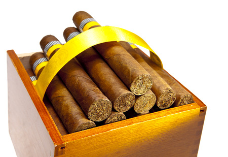 cigars: The Cuban cigars, hand made Stock Photo