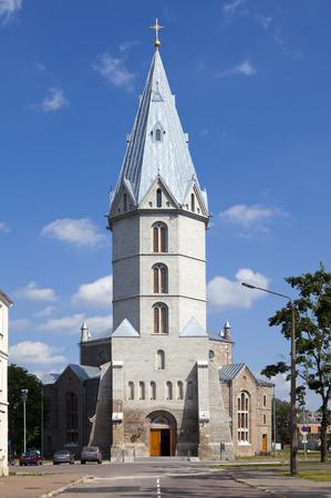 lutheran: Alexanders Lutheran church in Narva, Estonia