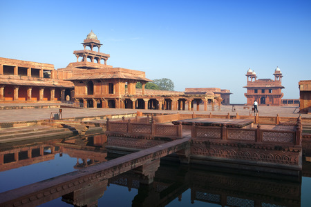 the thrown: India. The thrown city of Fatehpur Sikri.