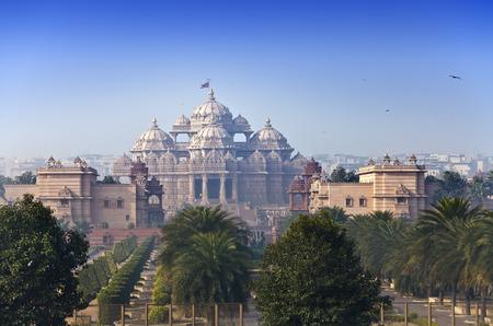 사원 Akshardham, 뉴 델리, 인도