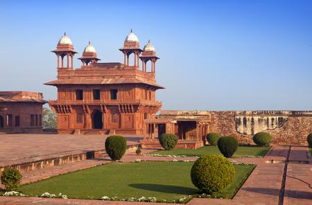 fatehpur: India. The thrown city of Fatehpur Sikri.