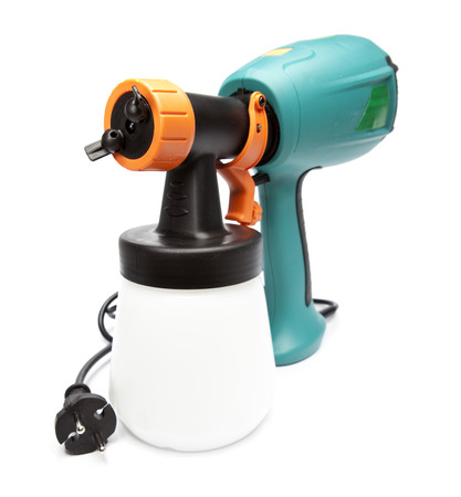 coloration: electrical spray gun for coloration, for color pulverization
