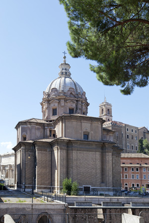 navona: Saint Agnese in Agone in Piazza Navona, Rome, Italy