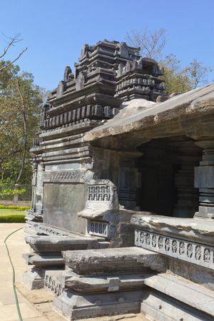 mahadev: The only remained Mahadev temple the XIII century in Tambdi Surla, Goa, India