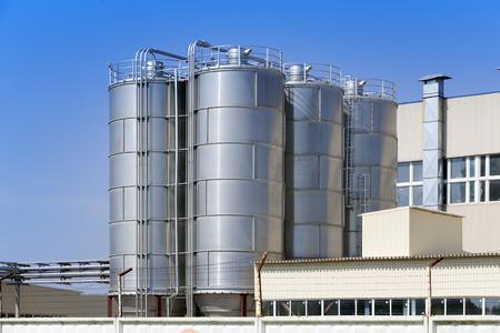 industria quimica: La fábrica de productos químicos. Rusia.