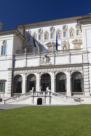 villa borghese: Villa Borghese, Rome, Italy Editorial