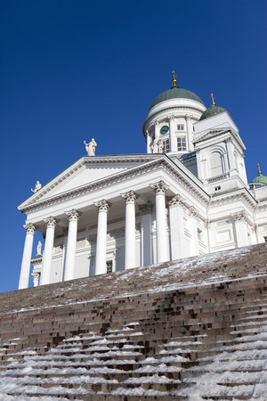 lutheran: Lutheran cathedral in Helsinki, Finland