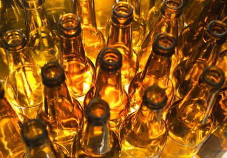 botellas vacias: botellas vac�as, la vista superior