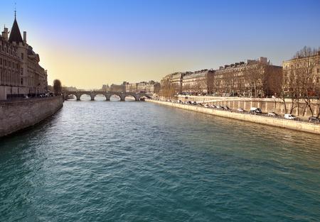 embankment: Paris. Seine Embankment