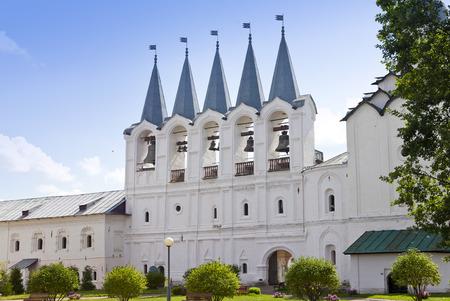 russian orthodox: Tikhvin Assumption Monastery, a Russian Orthodox, (Tihvin, Saint Petersburg region, Russia)