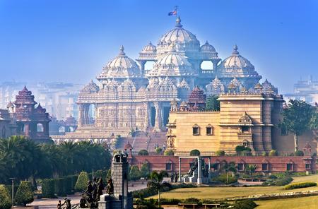 アクシャルダム寺院、デリー、インド 写真素材