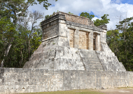 yucatan: Chichen Itza pyramid, Yucatan, Mexico Stock Photo