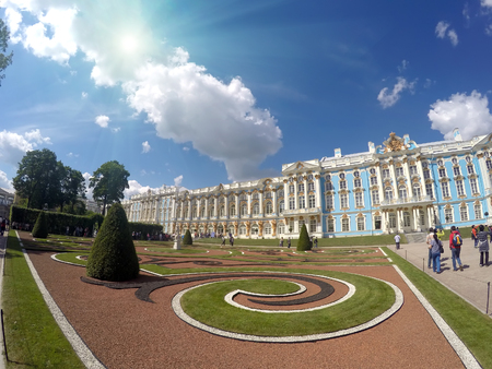 katherine: Katherines Palace hall in Tsarskoe Selo (Pushkin), Russia Editorial
