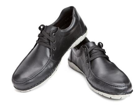 Men boots Stock Photo
