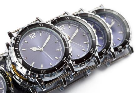 cronógrafo: Wrist watches Foto de archivo