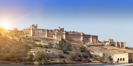 amber fort: India. Jaipur. Amber fort