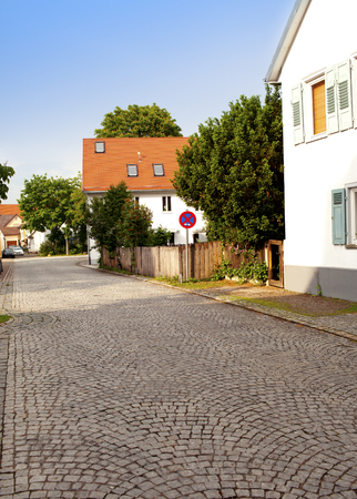 front house: house in the town in Bavaria, Germany