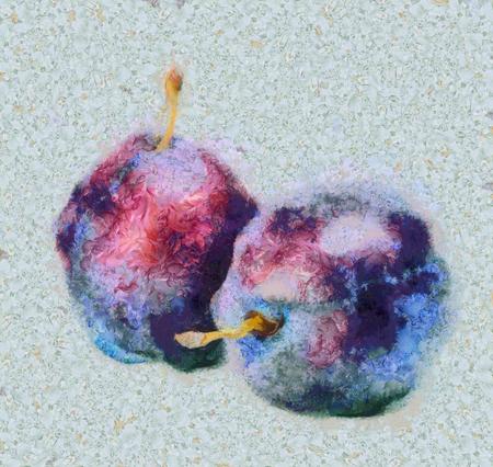 ripe: Ripe plum