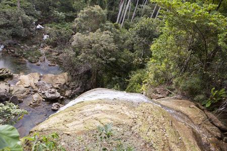 soroa: Soroa waterfall, Pinar del Rio, Cuba.