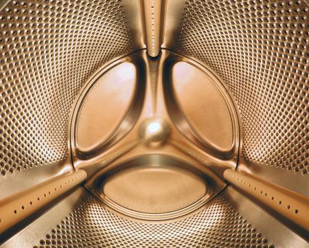 inside view of the washing machine drum
