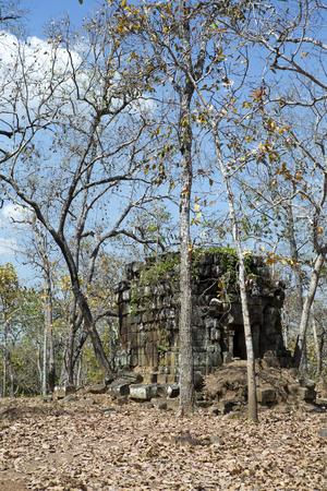 Koh Ker temple complex ruin, Cambodia