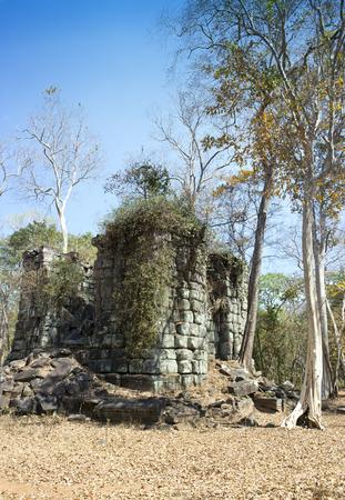 Prasat Thneng ruin, Koh Ker temple complex, Cambodia