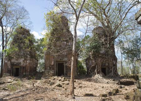 Prasat Chrap ruin, Koh Ker temple complex, Cambodia Stock fotó