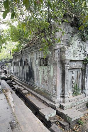 Beng Mealea temple  ruin in the Koh Ker complex, Siem Reap, Cambodia