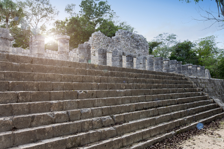 archaeological site of Chichen Itza in Yucatan, Mexico