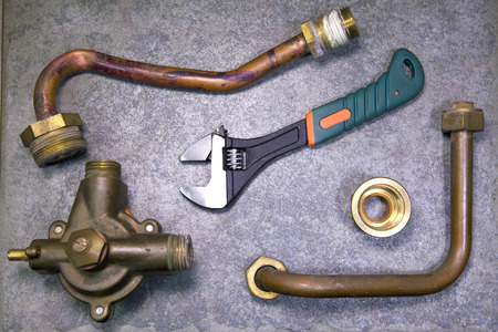 water fittings and adjustable spanner