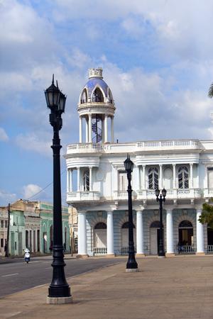 Palacio Ferrer. Cuba. Cienfuegos Reklamní fotografie