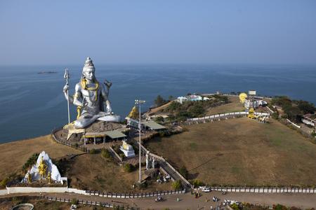 La statue de Shiva. Inde. Murdeshvar.