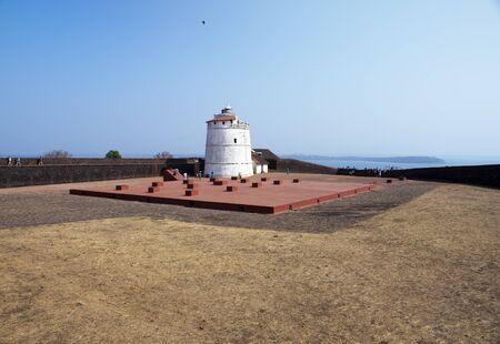 India. Goa. Aguada fort.
