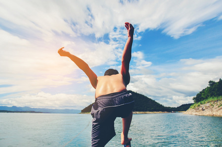 freely: Jumping and flying freely