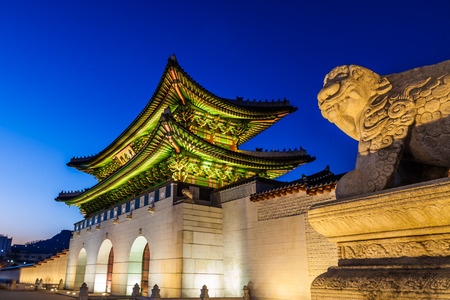 gyeongbokgung: Gyeongbokgung night