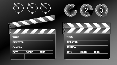 movie board Vector
