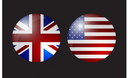 all european flags: flag shield united