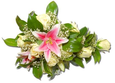 bouguet bella de las flores de la novia