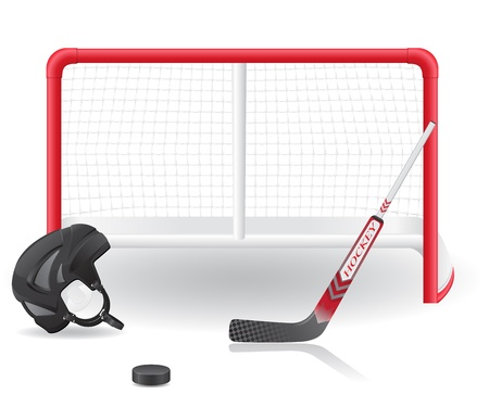 ice hockey: hockey set