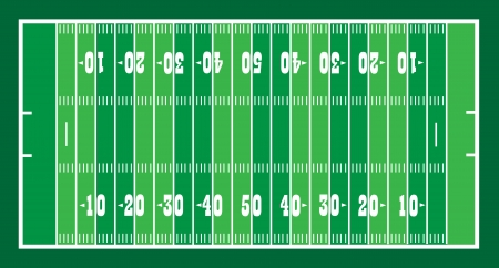 american football background: field for american football illustration