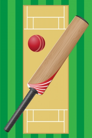 cricet sport game illustration illustration