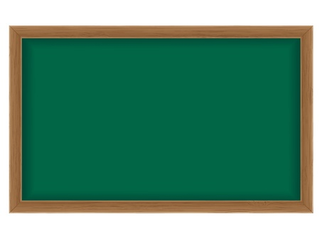 wooden school board for writing chalk illustration isolated on white background illustration