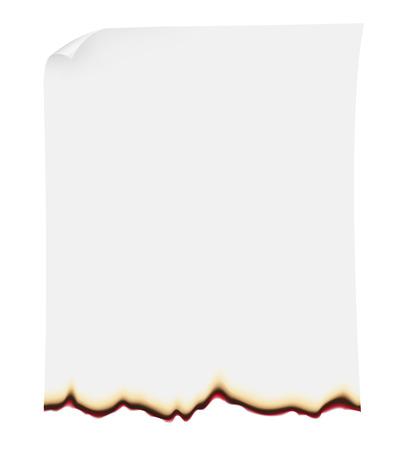 searing paper illustration isolated on white  illustration