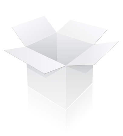 packing box vector illustration isolated on white background