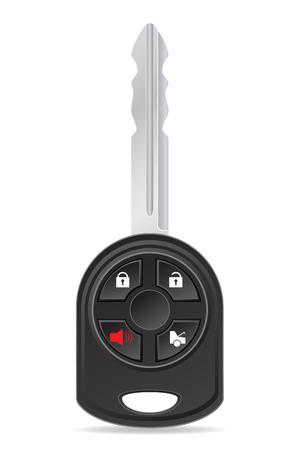 car key vector illustration isolated on white background illustration